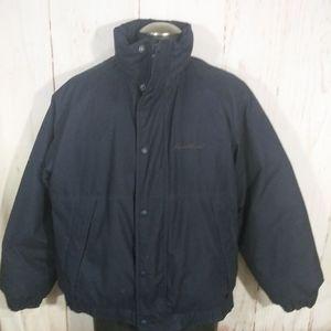 Men's Eddie Bauer down puffer jacket coat Size L